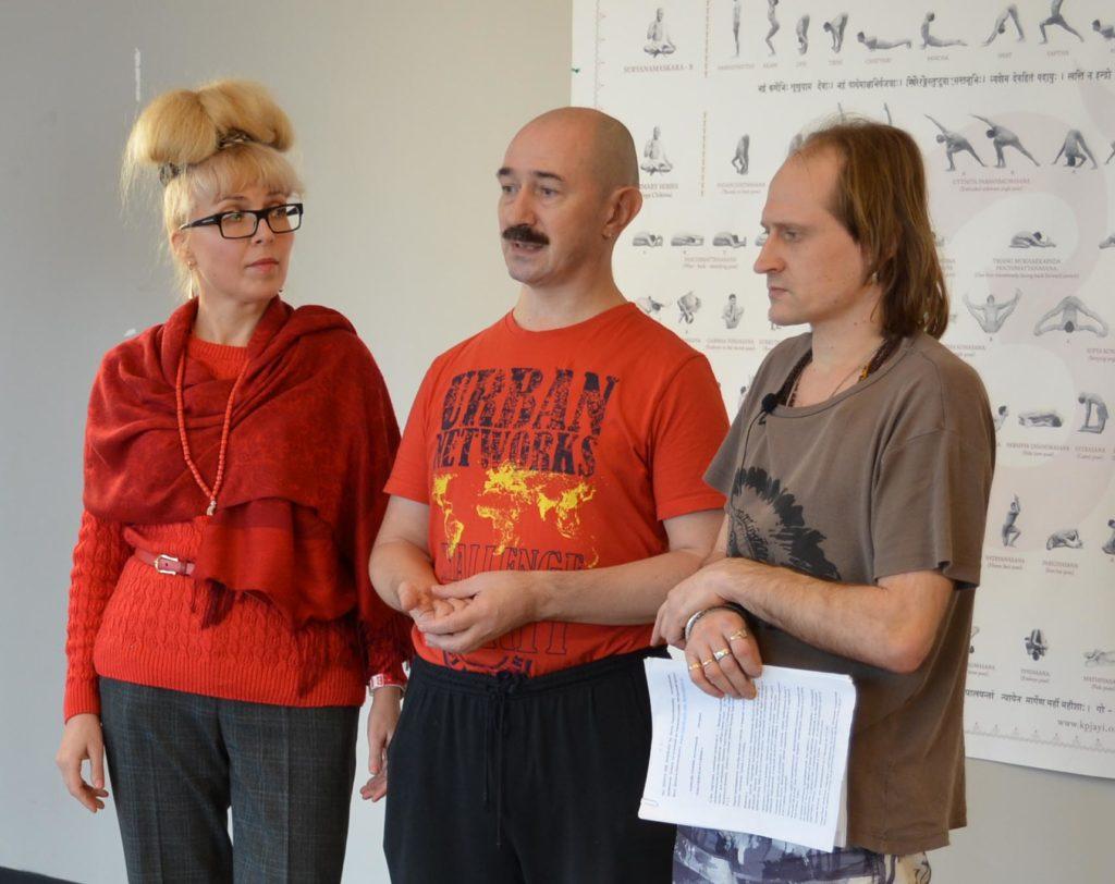 Прокунины с Денисом Заенчковским
