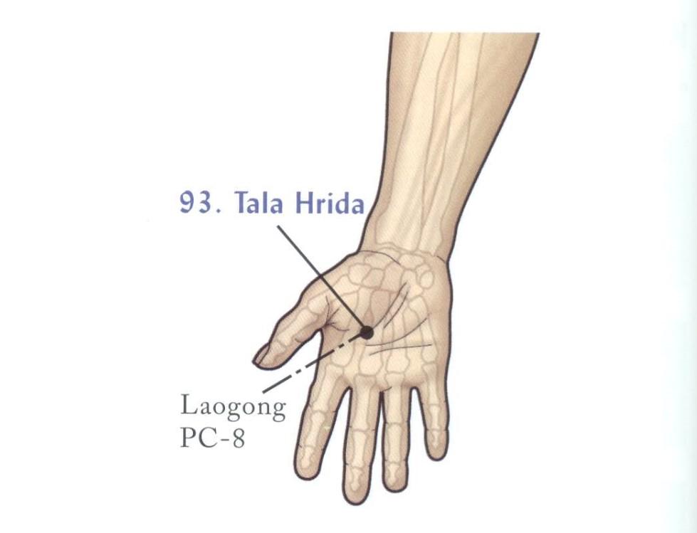 Марма-терапия Йогатерапия сердечно-сосудистых заболеваний-TalaHrida
